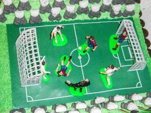 "Motiv-Torte ""Fußballfeld"" (Bild 2)"